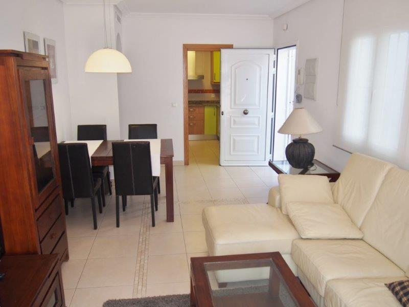 Te koop appartement met zeezicht in Mojacar