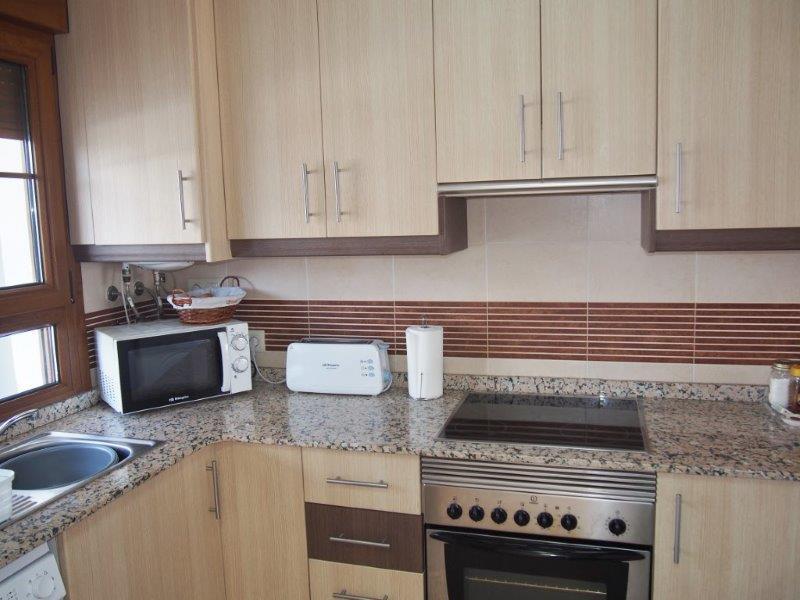 Appartement  te koop in Palomares met zicht op zee kitchen keuken