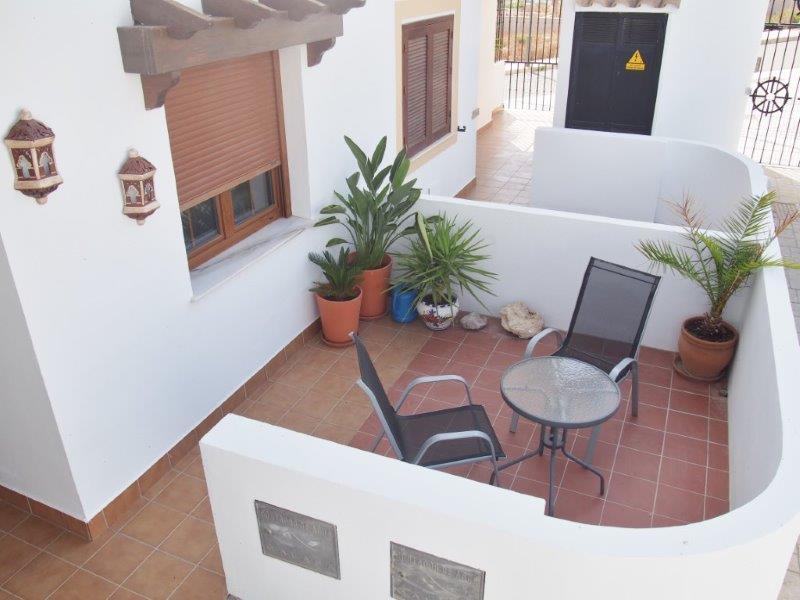 Appartement  te koop in Palomares met zicht op zee