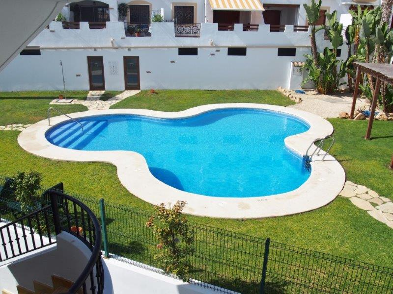 appartement Palomares te koop swimming pool