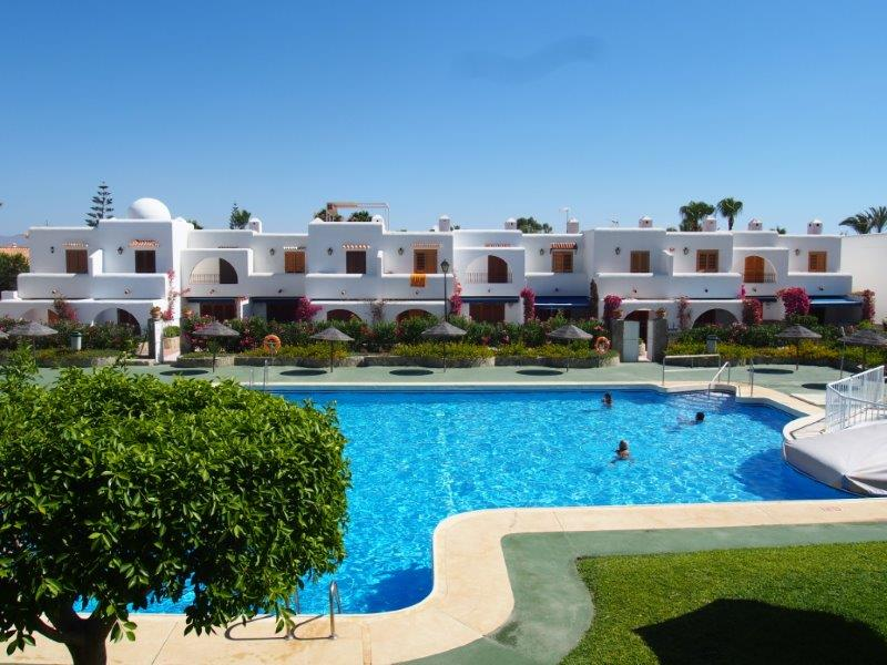 twee slaapkamer duplex te koop Vera Playa