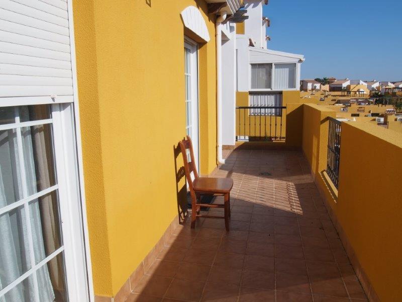 3 slaapkamer appartement te koop Los Gallardos