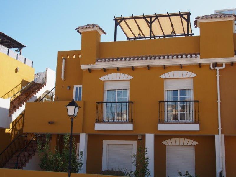 Te koop 3 slaapkamer appartement Los Gallardos