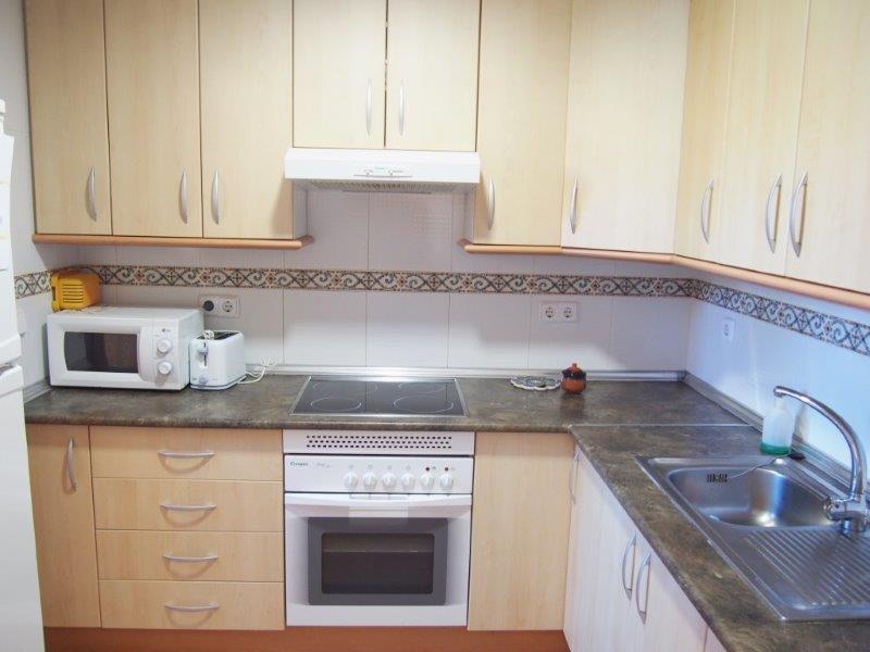 Mooi appartement te koop  op het gelijkvloers te Vera Playa Almeria