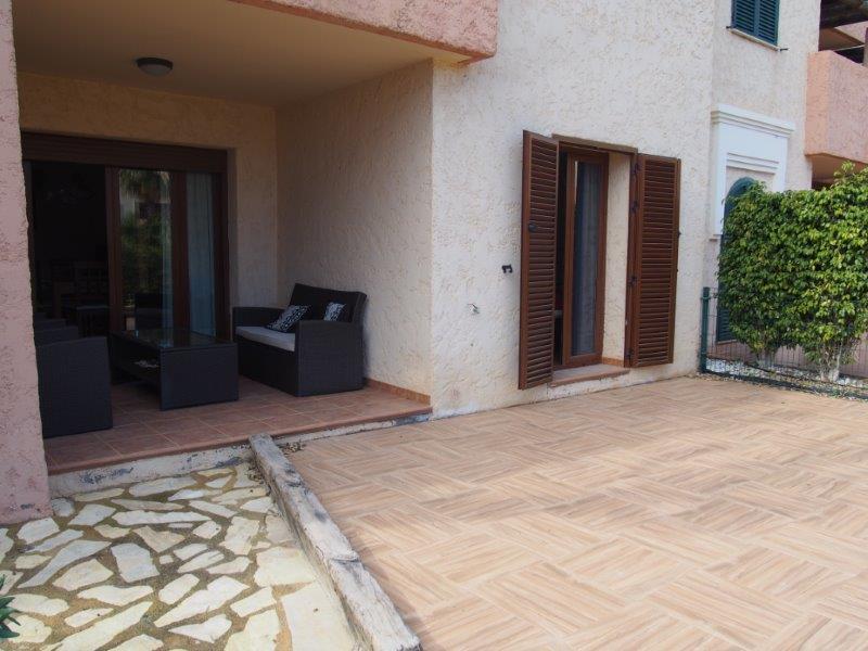 Gelijkvloers appartement met 2 slaapkamers te koop in Spanje - Vera Playa