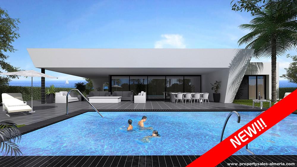 Nieuwbouwproject PSA-036 Villa Property Sales Almeria Sold