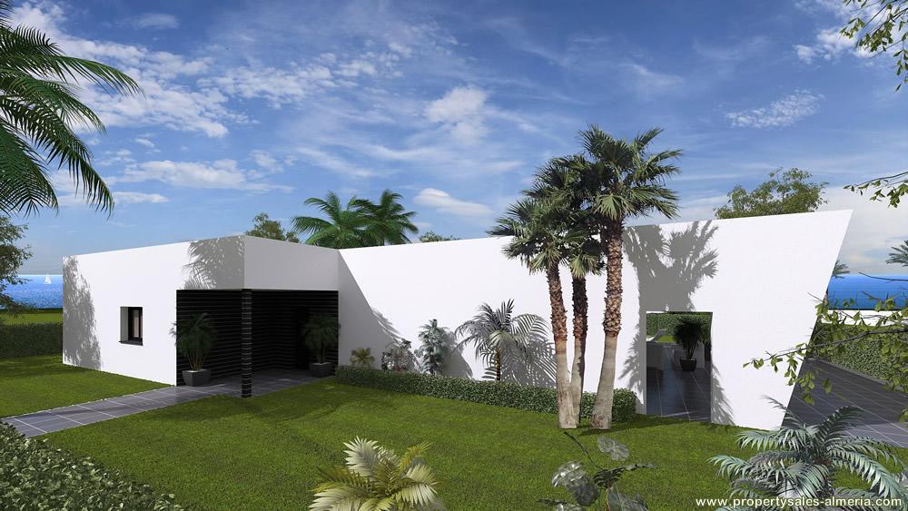 Nieuwbouwproject PSA-036 Villa Property Sales Almeria verkocht