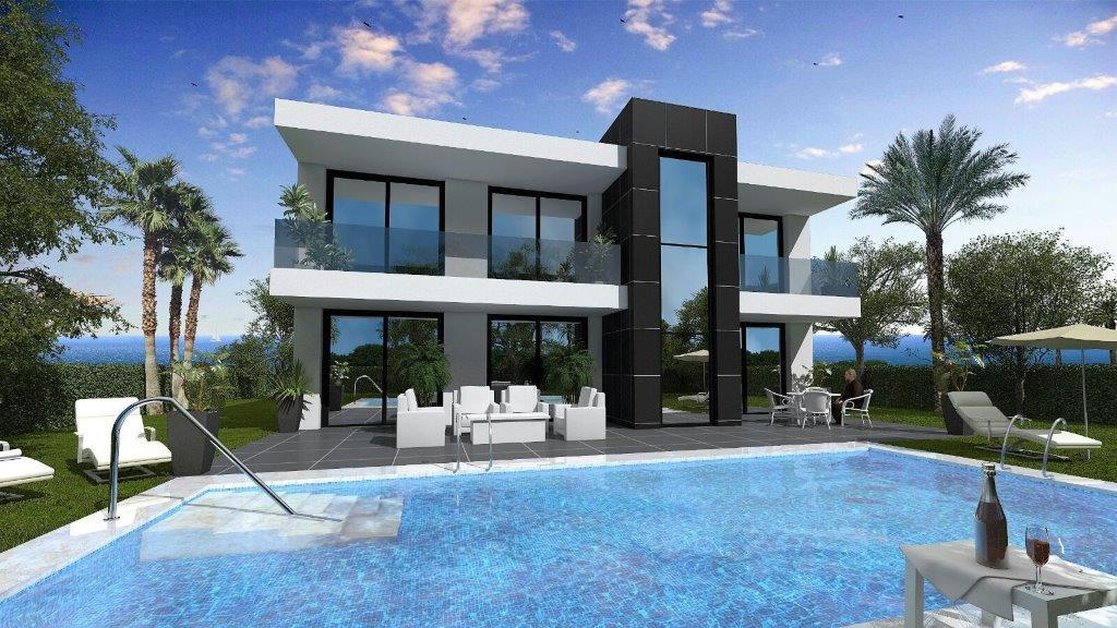 Vera Playa nieuwbouwproject te koop, zwembad, 3 slaapkamers, 2 badkamers