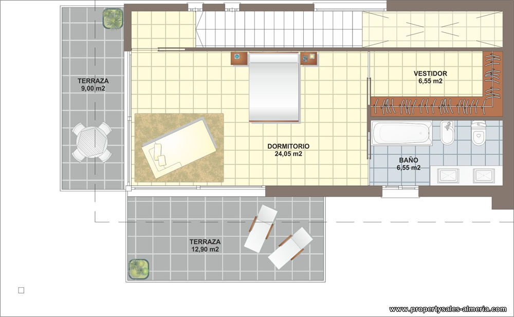 Villa nieuwbouwproject te koop Vera Playa Almeria, Spanje
