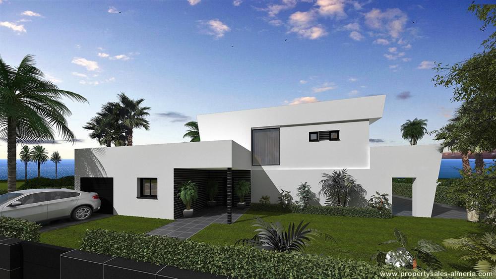 Villa nieuwbouwproject te koop Vera Playa Almeria Spanje