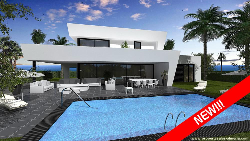 Villa nieuwbouwproject te koop Vera Playa Almeria