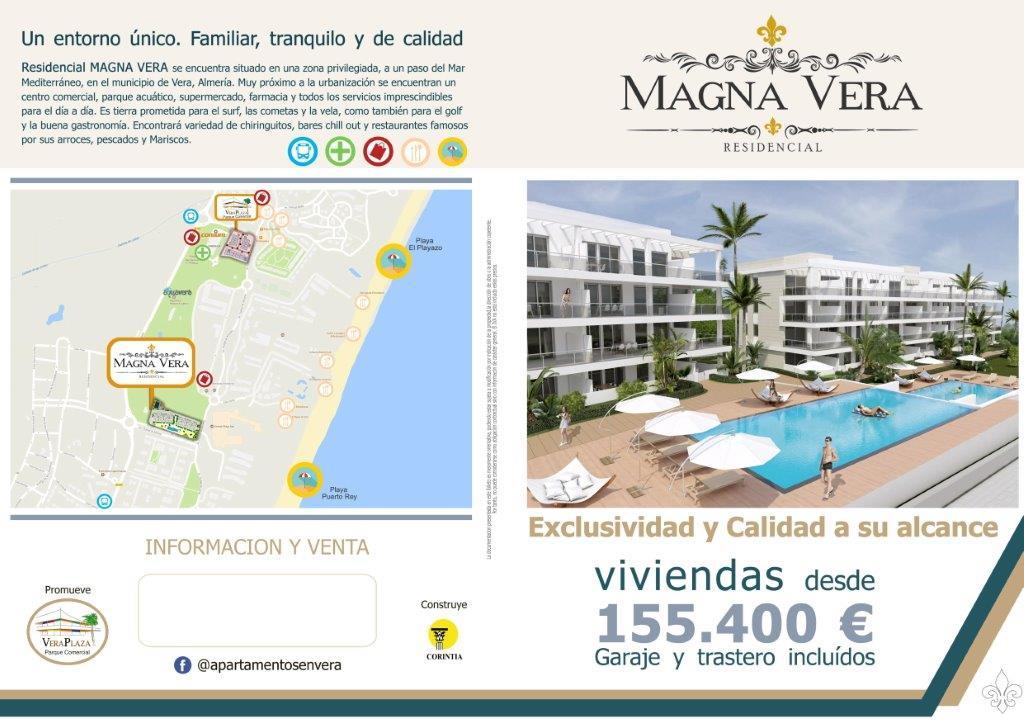 Nieuwbouw te koop Almeria Playa Vera Residencia Magna VERA_1