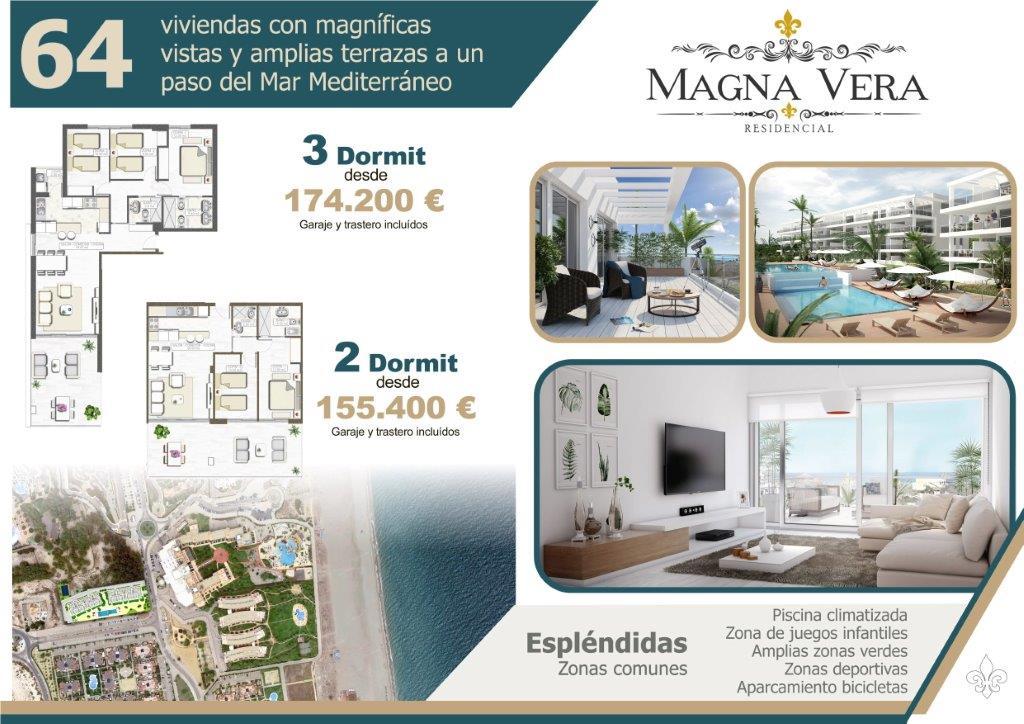 Nieuwbouw te koop Almeria Playa Vera Residencia Magna VERA_2