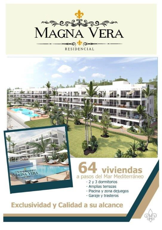 Nieuwbouw te koop Playa Vera Residencia Magna  Spanje