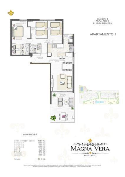 Nieuwbouw te koop Playa Vera Residencia Magna  Almeria