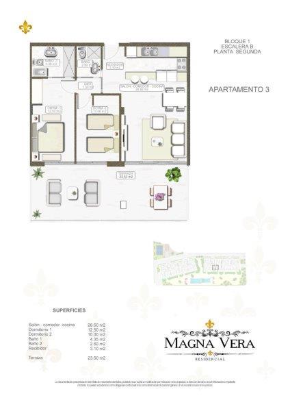Nieuwbouw te koop Playa Vera Residencia Magna  Almeria Spanje