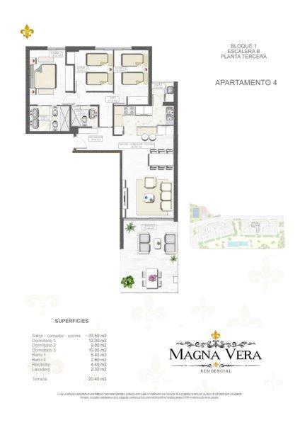 Nieuwbouw te koop Almeria Spanje, Playa Vera Residencia Magna