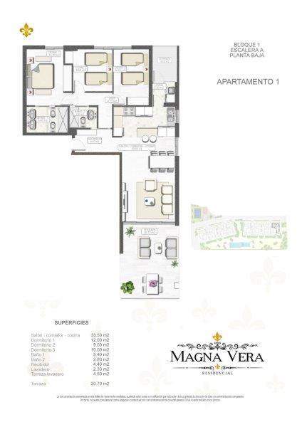 Nieuwbouw te koop Playa Vera Residencia Magna Bloque 1- MagnaVera_4