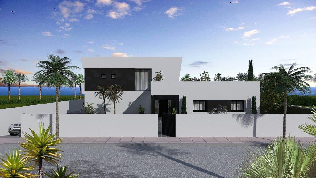 Nieuwbouwproject Caporchanes te koop Vera-Playa Almeria