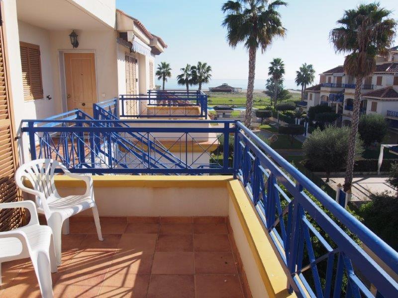 Penthouse met zeezicht te koop Almeria Vera playa