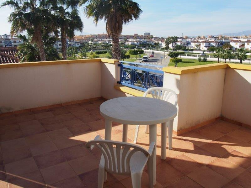 Penthouse met zeezicht te koop Vera playa Spanje