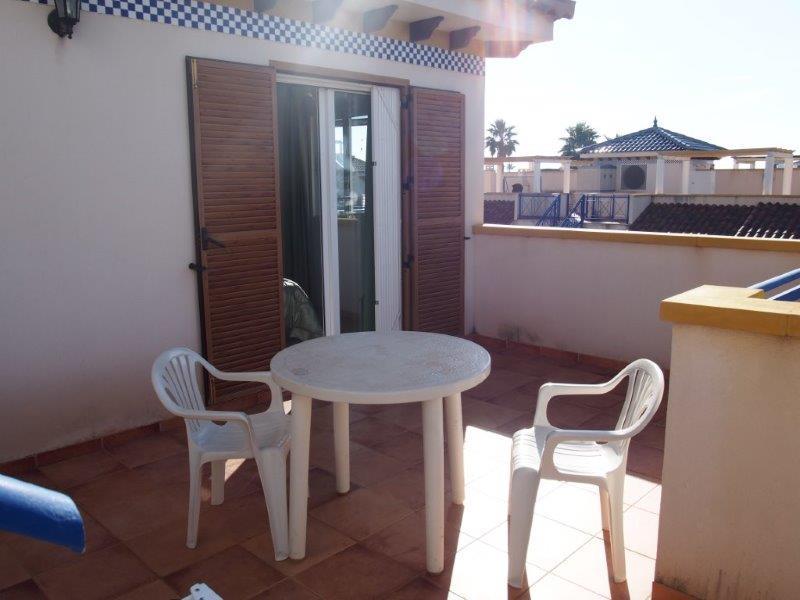 Penthouse met zeezicht te koop Vera playa Spanje 012