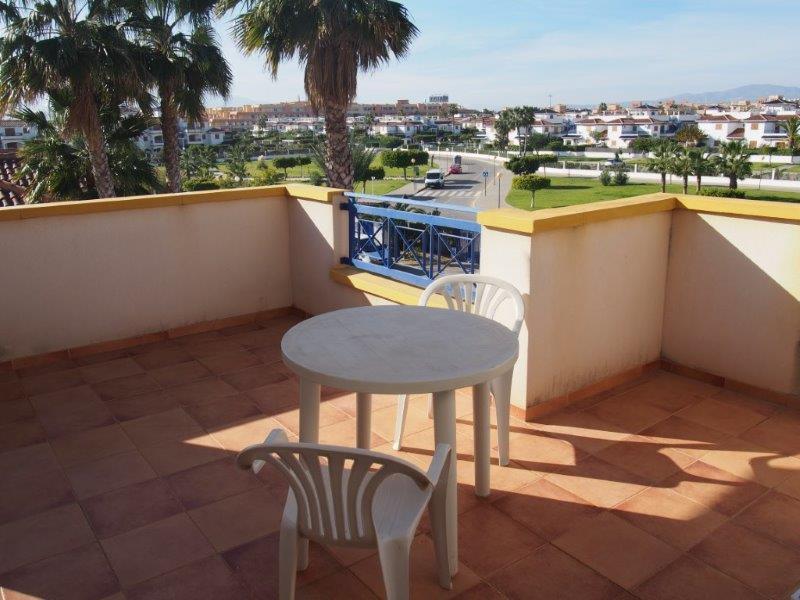Penthouse met zeezicht te koop Vera playa Spanje 011