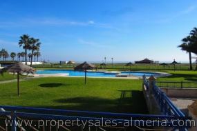 Penthouse met zeezicht te koop Vera Playa Almeria