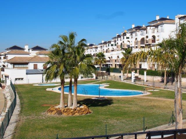 Te koop duplex  Vera Playa strand zwembad