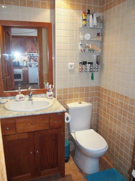 Appartement 2 slaapkamers te koop Vera Playa badkamer wc