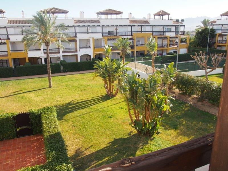Appartement 2 slaapkamers te koop Vera Playa balkon