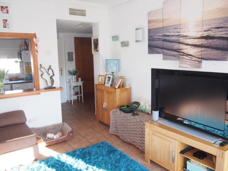 Appartement 2 slaapkamers te koop Vera Playa living salon