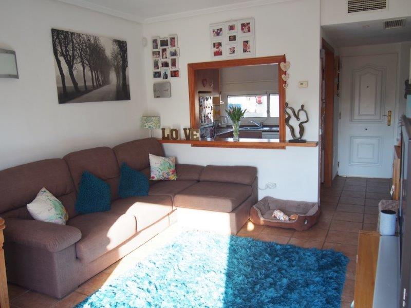 Appartement 2 slaapkamers te koop Vera Playa living