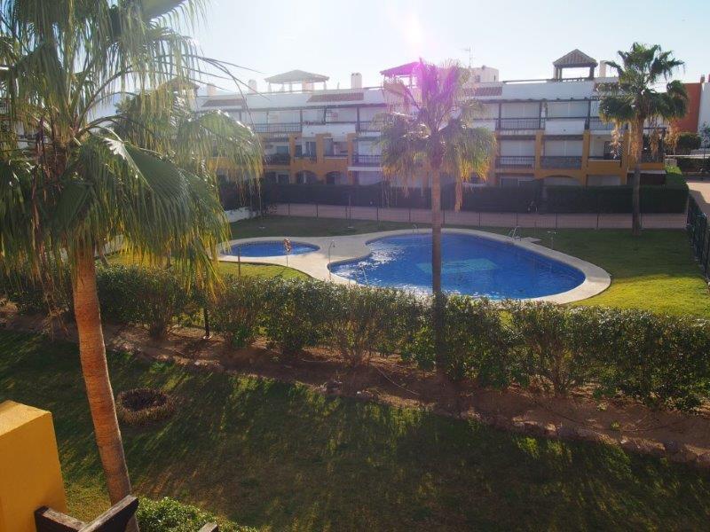 Appartement 2 slaapkamers te koop Vera Playa zwembad