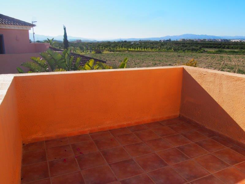 Villa te koop Vera Playa, uitzicht balkon