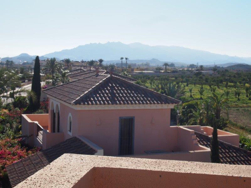 Villa te koop Vera Playa, uitzicht balkon terras