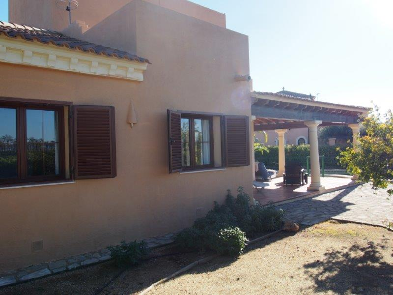Villa te koop Vera Playa - front patio