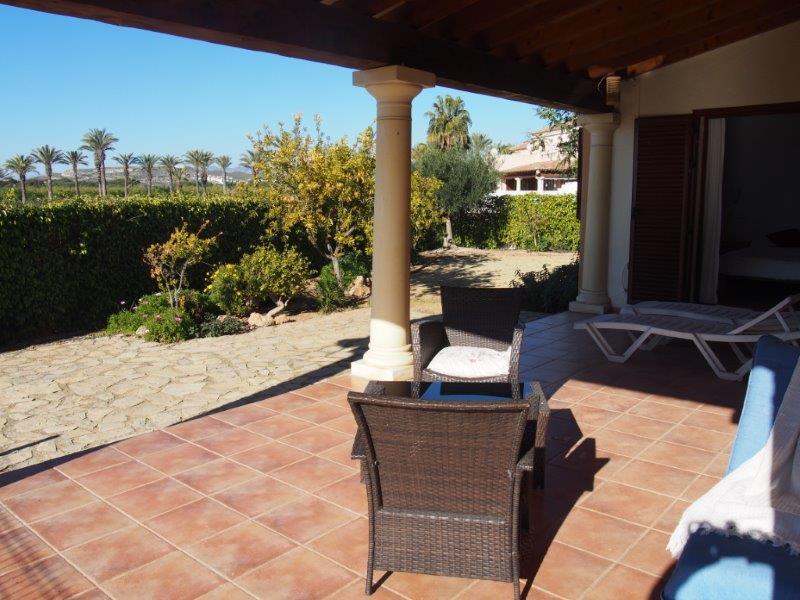 Villa te koop Vera Playa - tuin