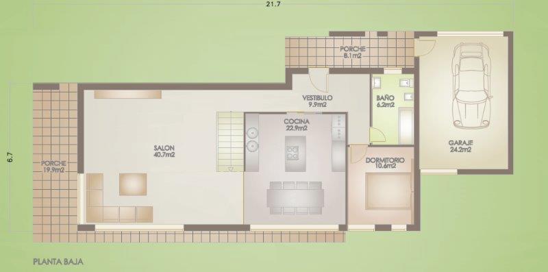 Te koop nieuwbouwproject model 8  Vera Almeria